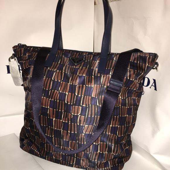 7f4a7bf697 discount code for prada 2 way lux saffiano leather shoulder bag black talc  629b2 5f859  store nwt prada tessuto nylon brn blue tote b4696a new 0229e  f55b3